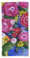 Choice Bouquet Beach Towel