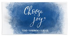 Choose Joy Beach Towel
