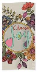 Choose Joy Beach Towel