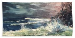 Choppy Seas 1 Beach Towel