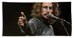 Chris Cornell Beach Towel