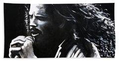 Chris Cornell Beach Towel
