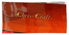 Chris Craft Logo Beach Towel