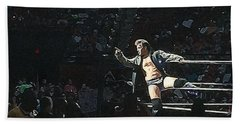 Chris Jericho Y2j Beach Towel