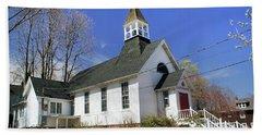 Christ Church Episcopal Of Port Jefferson Beach Towel