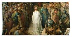 Christ Leaves His Trial Beach Towel