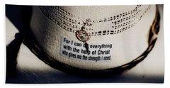 Christian Cowboy Beach Sheet