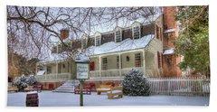 Christina Campbell Tavern Colonial Williamsburg Beach Sheet