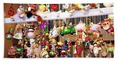 Christkindlmarkt Ornaments Munich Beach Sheet