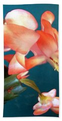 Christmas Cactus Beach Towel
