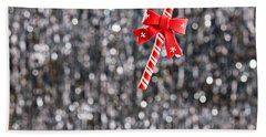 Beach Towel featuring the photograph Christmas Candy  by Ulrich Schade
