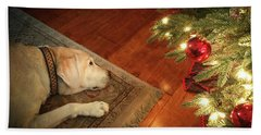 Christmas Dreams Beach Towel