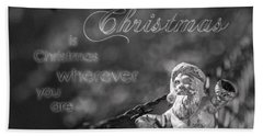 Beach Towel featuring the photograph Christmas Everywhere by Caitlyn Grasso