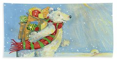 Christmas Homecoming Beach Towel