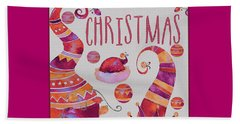 Beach Towel featuring the photograph Christmas by Jeff Burgess