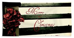 Christmas No. Eleven Beach Towel