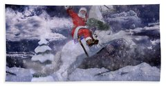 Christmas Spirit Beach Towel