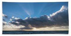 Christmas Sunrise Delray Beach Florida Beach Sheet