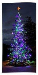 Christmas Tree - 365 - 295 Beach Towel by Inge Riis McDonald
