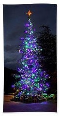 Christmas Tree - 365 - 295 Beach Sheet by Inge Riis McDonald