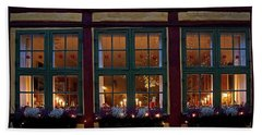 Beach Sheet featuring the photograph Christmas Windows - 365-276 by Inge Riis McDonald