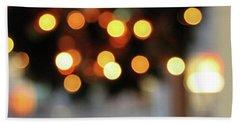 Christmas Wreath- Photography By Linda Woods Beach Towel