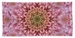 Chrysanthemum Beauty Beach Towel