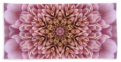 Chrysanthemum Kaleidoscope Beach Towel