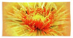 Chrysanthemum Beach Towel