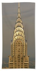 Chrysler Building New York Ny Beach Towel