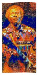 Chuck Berry Tribute Beach Sheet
