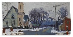 Church In North Tonawanda Beach Towel