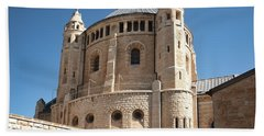 Beach Towel featuring the photograph Church Of The Dormition by Mae Wertz