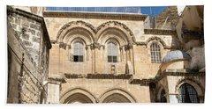 Church Of The Holy Sepulchre Beach Towel