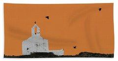 Church On A Hill Beach Towel