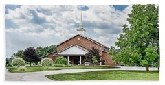 Church On Coldwater Beach Sheet