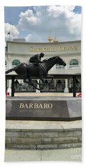 Churchill Downs Barbaro 2 Beach Towel