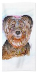 Ciao I'm Viki Beach Towel by Clyde J Kell