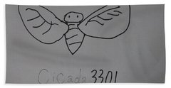 Cicada3301 Beach Towel