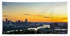 Cincinnati Sunrise II Beach Towel