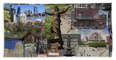 Cincinnati's Favorite Landmarks Beach Towel