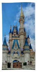 Cinderella Castle Beach Sheet