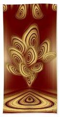 Cinnamon Rolls Show  Beach Sheet by Giada Rossi