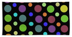 Circles N Dots C21 Beach Towel