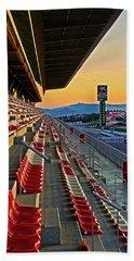 Circuit De Catalunya - Barcelona  Beach Towel