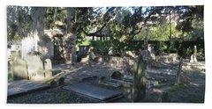 Circular Congregational Graveyard 1 Beach Towel