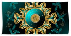 Circularium No 2704 Beach Towel