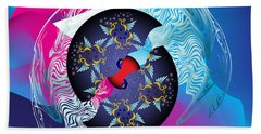 Circularium No 2719 Beach Towel