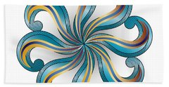 Circulosity No 2919 Beach Towel