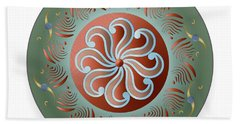 Circulosity No 2921 Beach Towel